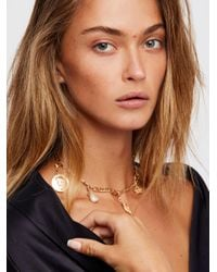 Free People - Multicolor Mix N Match Charm Necklace - Lyst