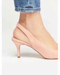 Free People - Multicolor Sterling Kitten Heel By Charles David - Lyst