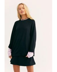Free People - Black Alexis Co-ord By Fp Beach - Lyst