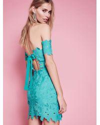 Free People - Blue Dahlia Dress - Lyst