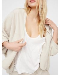 Free People | Multicolor Downtown Cardi | Lyst