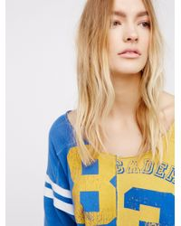 Free People - Blue Dream Player Tee - Lyst