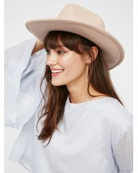 Free People   Multicolor Drifter Felt Hat   Lyst