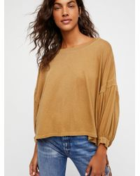 Free People - Multicolor We The Free Sugar Rush Tee - Lyst