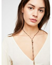 Free People - Multicolor Sundaze Lariat - Lyst
