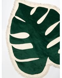 Free People - Green Monstera Giant Towel - Lyst
