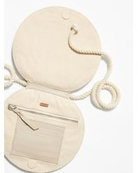 Free People - Natural Round We Go Pocket Belt - Lyst