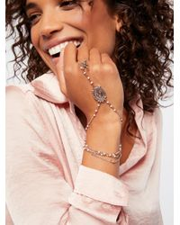 Free People - Multicolor Madrid Rosary Hand Wrap - Lyst