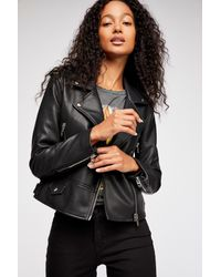 Free People - Black It Takes Two Jacket By Blank Nyc - Lyst