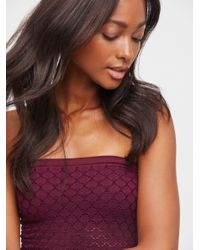 Free People - Purple Honey Textured Tube By Intimately - Lyst