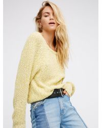 Free People | Multicolor Electric City Pullover | Lyst