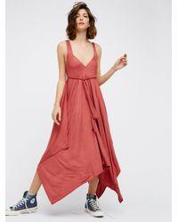 Free People | Multicolor Ella Midi Dress | Lyst