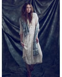 Free People   Multicolor Embroidered Fable Dress   Lyst