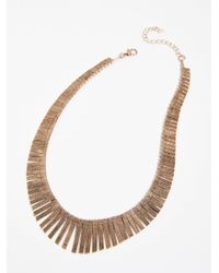 Free People - Multicolor Faye Collar Necklace - Lyst