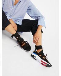 Free People - Black Vegan Zodiac Wrap Sneaker - Lyst