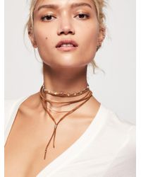 Free People | Multicolor Wanted & Wild Leather Bolo | Lyst