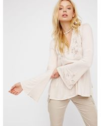 Free People | Pink Fly Away Tunic | Lyst