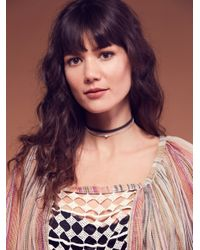 Free People - Natural Fp One Summer Lace Peasant Top - Lyst