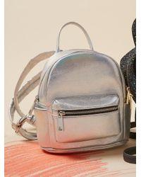 Free People Metallic Galaxy Backpack