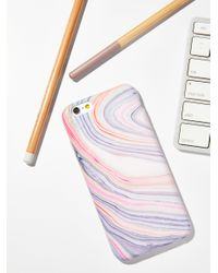 Free People | Multicolor Galaxy Marble Iphone Case | Lyst