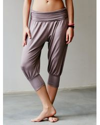 Free People - Gray Genie Pant - Lyst
