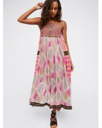 Free People | Multicolor Home Sweet Home Dress | Lyst