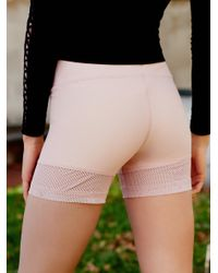 Free People - Pink Hot Trot Under Short Hot Trot Layering Tank - Lyst