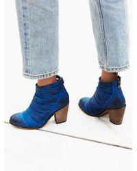 Free People | Blue Hybrid Heel Boot | Lyst