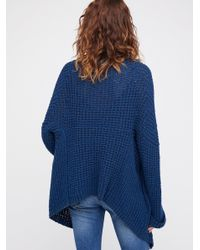 Free People - Blue I'll Be Around Cardi - Lyst