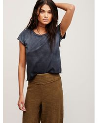 Free People | Black We The Free Kelly Tee | Lyst