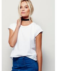 Free People | White We The Free Kelly Tee | Lyst