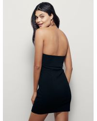 Free People - Black Kiss Me Slip - Lyst