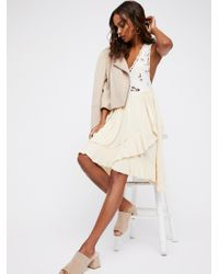 Free People   Multicolor Kissed By The Waves Mini Dress   Lyst