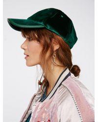 Free People | Multicolor Lady Luck Velvet Baseball Hat | Lyst