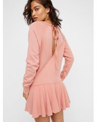Free People | Pink Like That Pullover | Lyst