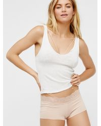 Free People | Multicolor Medallion Boyshort | Lyst