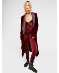 Free People | Red Meow Catsuit | Lyst