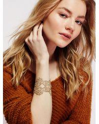 Free People | Metallic Lace Cuff | Lyst