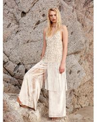 Free People | Multicolor Midnight Party Fringe Maxi | Lyst