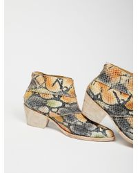 Free People | Multicolor Mixed Tape Western Boot | Lyst