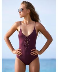 Free People - Multicolor Monahan One Piece Swimsuit - Lyst