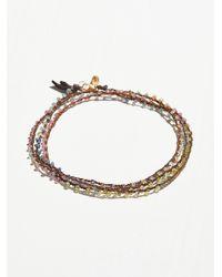 Free People | Multicolor Multi Sapphire Talisman Silk Wrap | Lyst