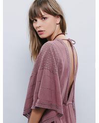 Free People - Purple Oh Valencia Caftan - Lyst