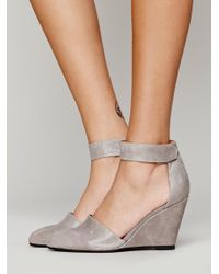 Free People | Gray Peaks Point Wedge | Lyst