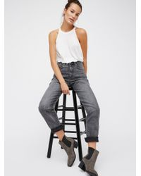Free People | Black All Day Everyday Jean | Lyst
