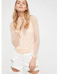 Free People | Natural Pretty Mama Top | Lyst
