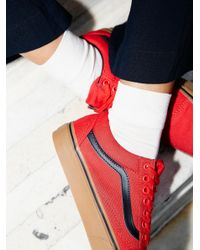 Free People | White Small Talk Ankle Sock | Lyst