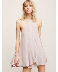 Free People | Natural Star Crossed Dress | Lyst