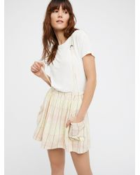 Free People | White Summer Breeze Jumper | Lyst