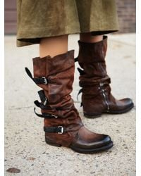 Free People   Brown Tatum Over The Knee Boot   Lyst